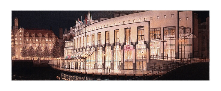 Holland casino Amsterdam, Eduard Moes art