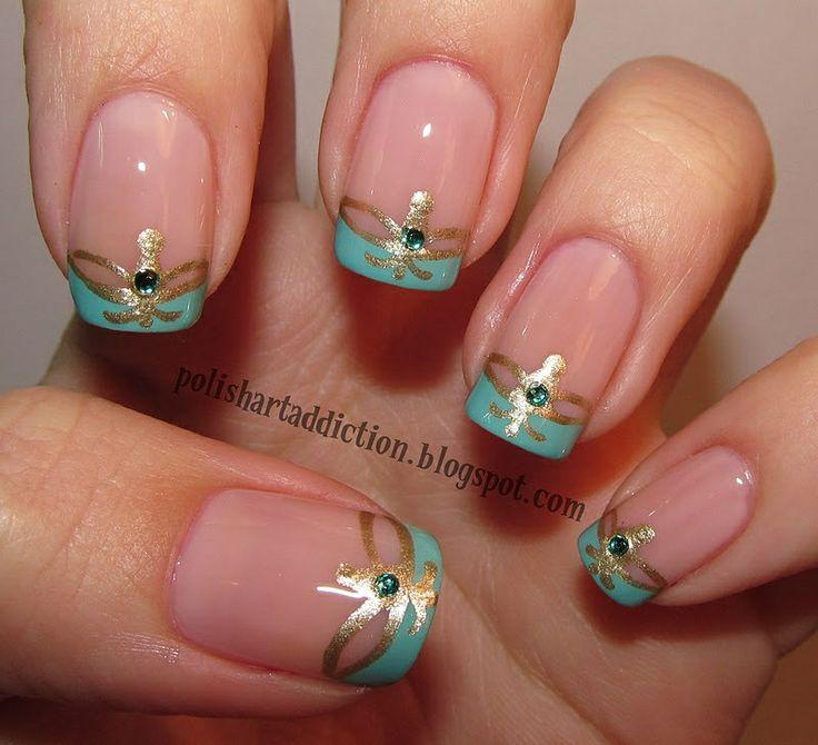 Princess Jasmine Nails: Pin By Brecca Maass On Nails
