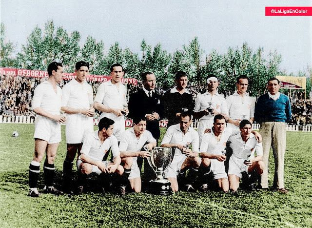 EQUIPOS DE FÚTBOL: SEVILLA Campeón de Liga 1945-46 Resumen de la temporada