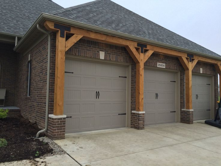 8x8 Rough Sawn Cedar Beams Rodick Crib Garage Doors