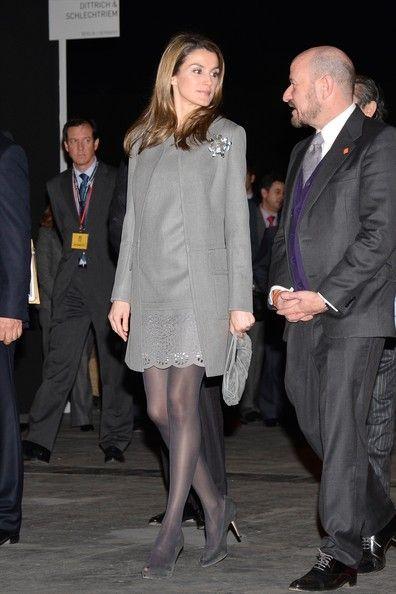 Princess Letizia of Spain 2/14/2013