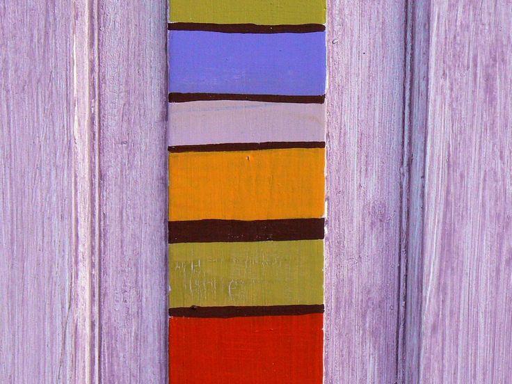 Detalle de color en postigo