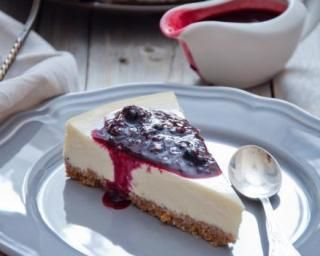 Cheesecake aux cassis et spéculoos spécial Cookeo