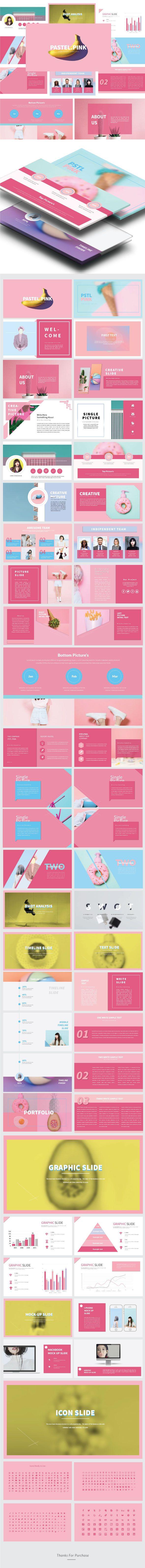 Pstl Pink - Multipurpose Presentation Templates