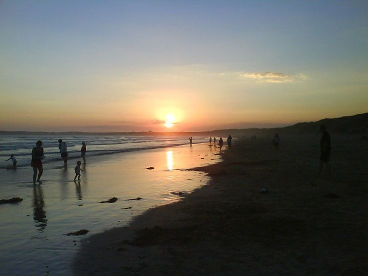 Sunset at Ocean Grove, Victoria. Another special place.
