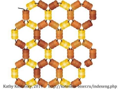 Honeycomb Netting. Beading Cartoon - YouTube