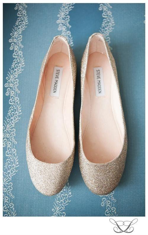 39 zapatos planos para novias 17