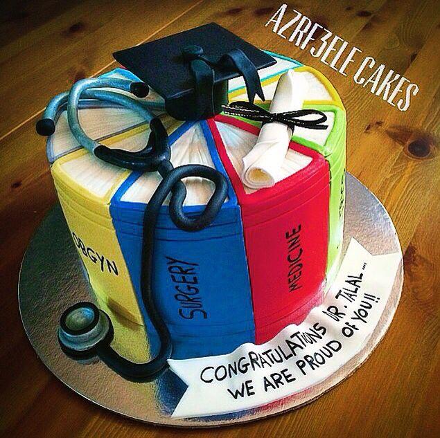 Medical cake doctor cake