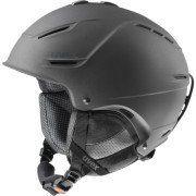 Uvex P1us Pro Ski Helmet Medium Black Gun Matte