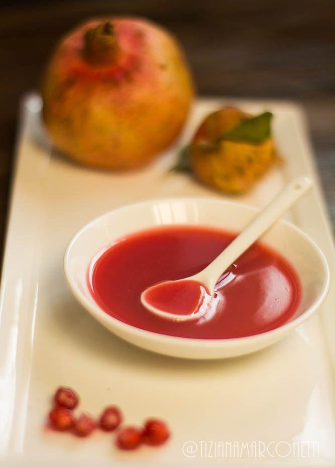 salsa alla melagrana e peperoncino - Powered by @ultimaterecipe