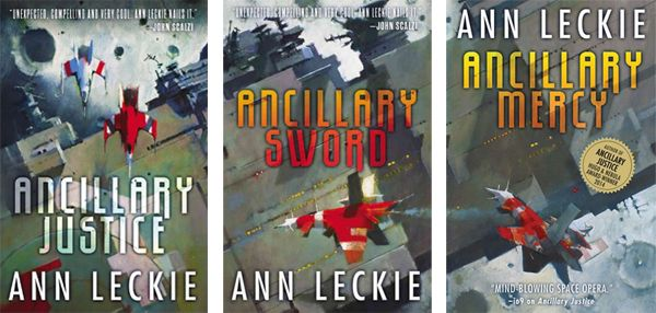 61.  Ann Leckie, Imperial Radch trilogy  I can sleep now.  Three amazing books.....