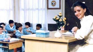 "La maestra Ximena de la telenovela ""Carrusel"" interpretado por Gabriela Rivero."