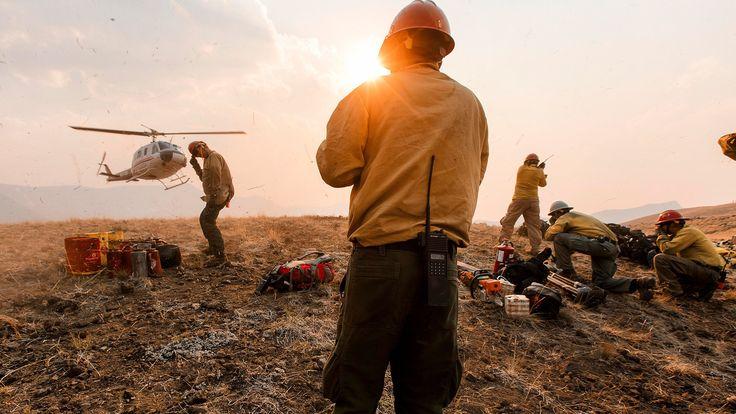 The Men and Women Fighting America's Wildfires Wildland