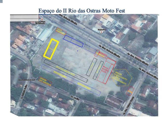 Rio das Ostras Moto Fest – Croqui do Evento