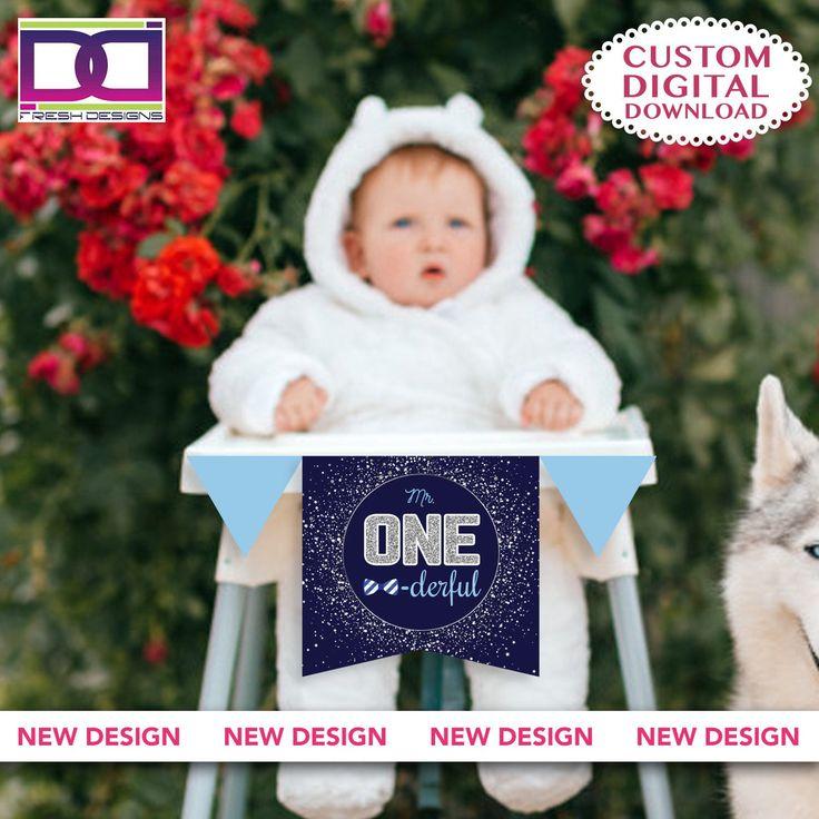 Digital file mr onederful cake topper mr onederful