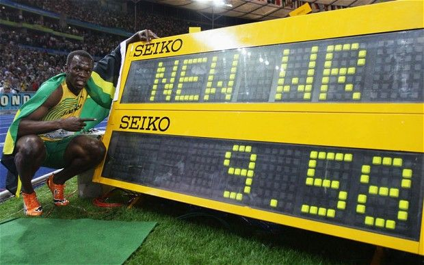 Mathematician calculates that Usain Bolt could actually run faster...