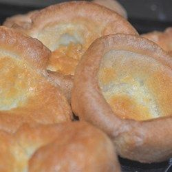 Easy individual yorkshire pudding recipe