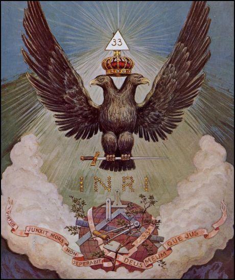 ❥ Phoenix or double headed eagle~ in Freemasonry and the Catholic church