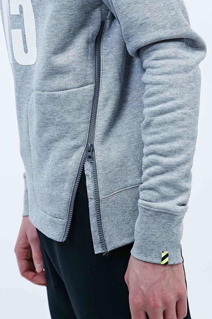 Nike Track and Field 8715 Sweatshirt in Grey