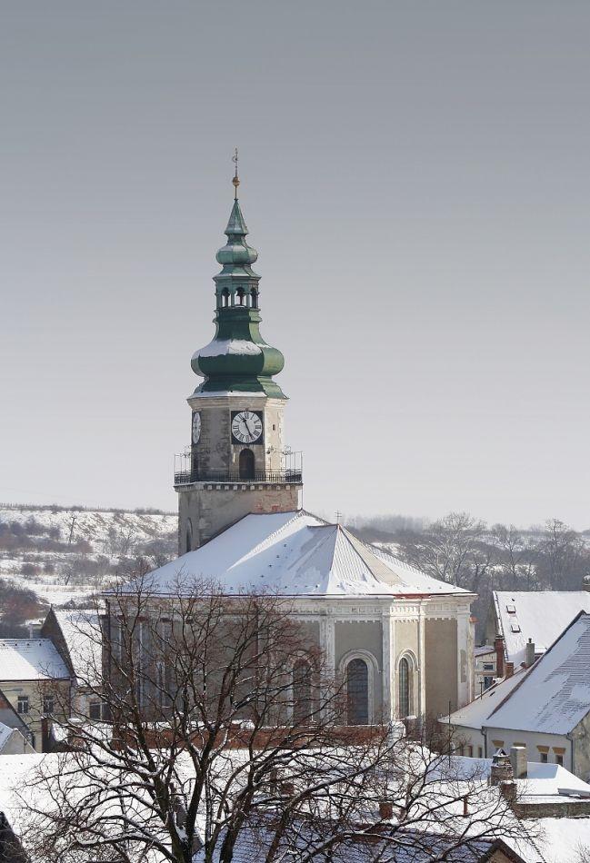 Slovakia, Modra - Stephen's church