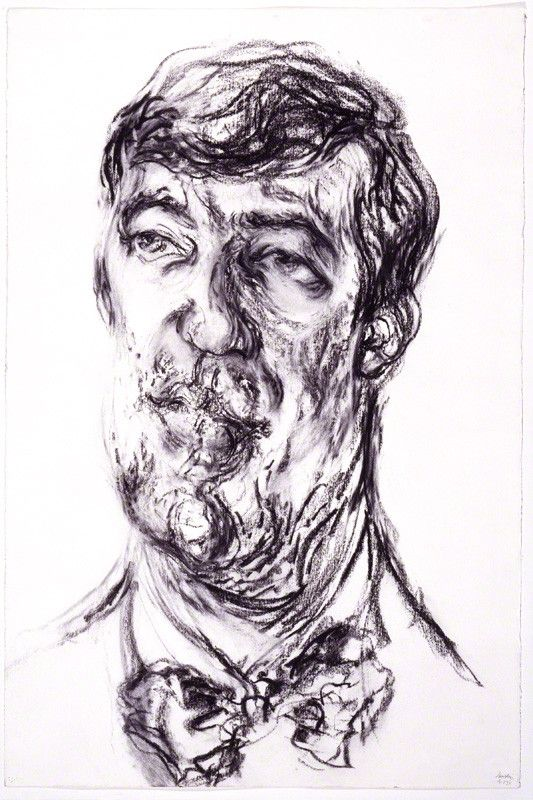 Maggi Hambling portrait of Stephen Fry