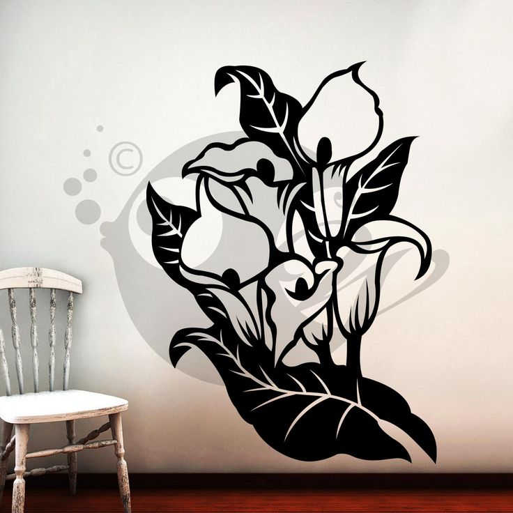 With this Tubular Ruby Flowers Wall Sticker Decal you can decorate your walls in one of the most modern and elegant ways