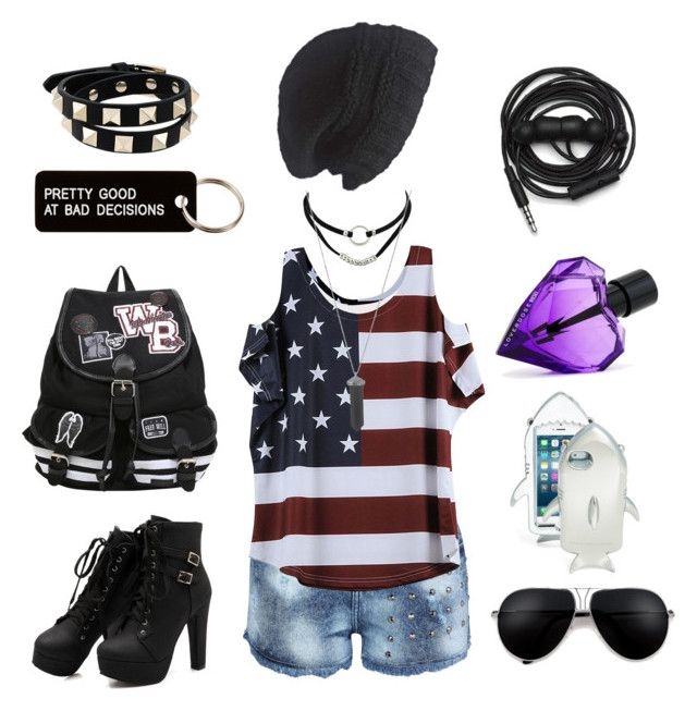 """""""SCREW YOU THEN ME"""" by amaracross ❤ liked on Polyvore featuring Karen Kane, STELLA McCARTNEY, Laundromat, Diesel, Urbanears, Various Projects and Valentino"""