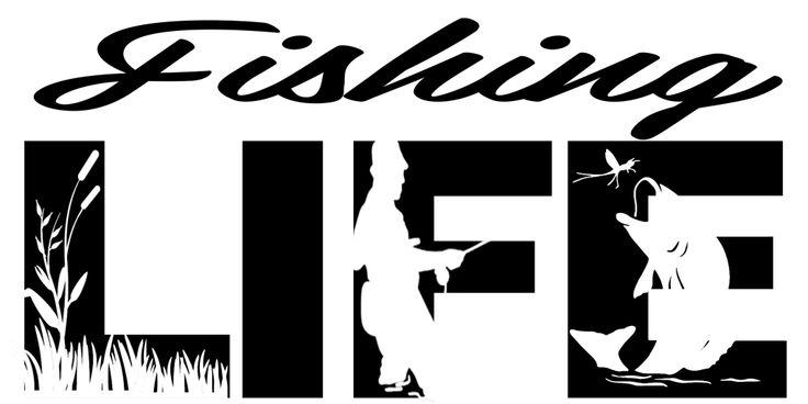 Free Fishing Life SVG File