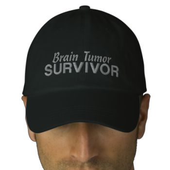 To see our complete line of embroidered awareness hats, please CLICK HERE. Brain tumor survivors, let the world know that you beat this unwelcome opponent and celebrate your victory with our Brain Tumor Survivor embroidered hats available in a variety of styles. Perfect gift idea for that brain tumor survivor in your life! We are Awareness Gift Boutique. As cancer survivors, survivor spouses, and avid awareness supporters we are pleased to contribute to numerous medical, animal, and Darfur…