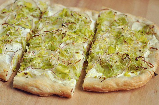 Fresh Summer Recipe: Leek, Ricotta & Lemon Flatbread