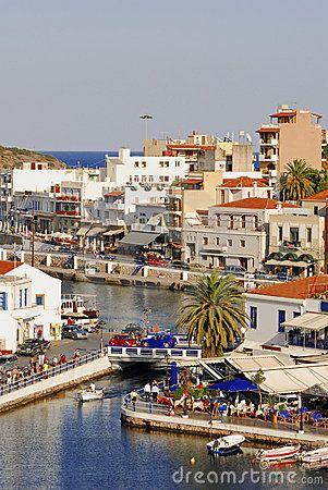 Greece ,Crete island , Agios Nikolaos town