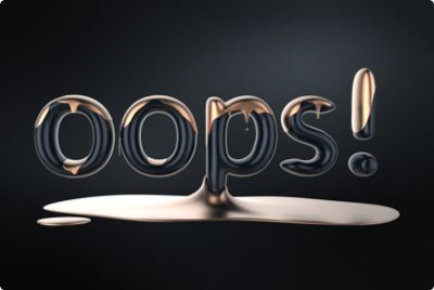 OOPS! A 3D font created with VECTARY - the free, online 3D modeling software    #3Dtext, #GoogleFont, #3D, #Typography #Font #3Dfont