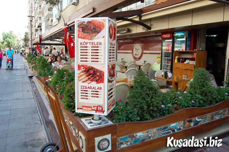 Restaurant in Alsancak, Izmir.