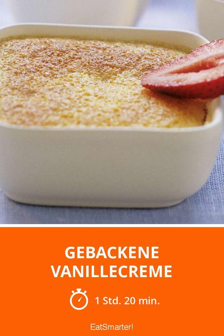 Gebackene Vanillecreme - smarter - Zeit: 1 Std. 20 Min.   eatsmarter.de