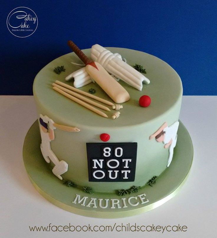 53 best cricket themed cakes images on Pinterest Themed cakes