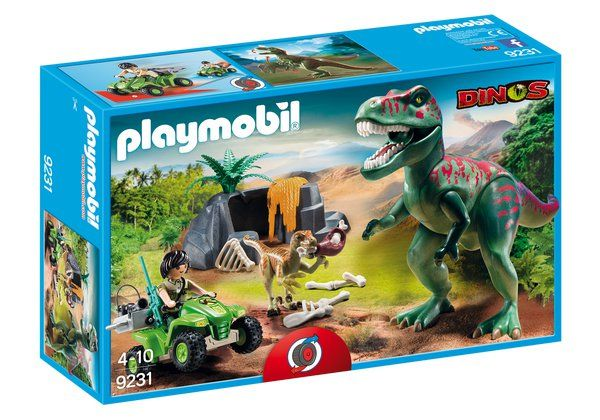 ÚTOK T-REXE playmobil 9231