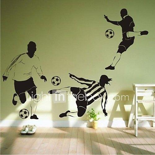 muurstickers muur stickers, hedendaagse voetbal pvc muurstickers 2017 - €11.63