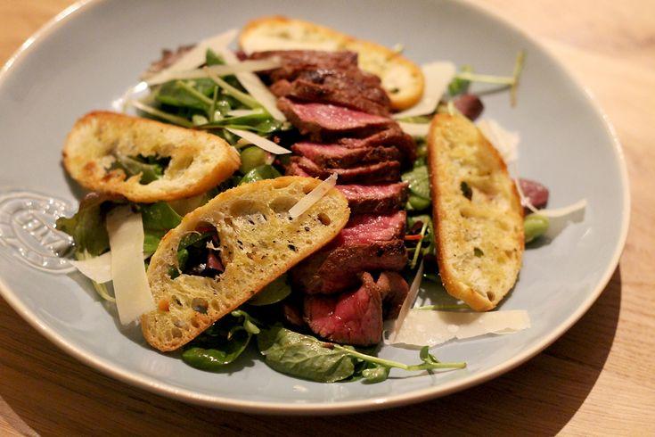 Culy Homemade: supersnelle salade met biefstuk