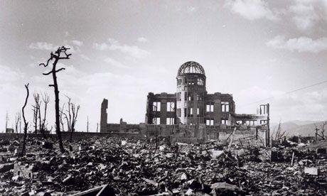 Hiroshima, 1945. Photograph: A Peace Memorial Museum Handout/EPA
