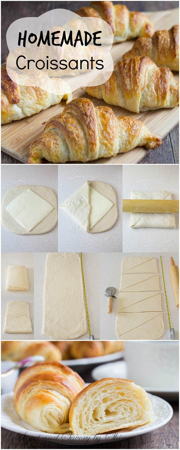 Why bother with homemade croissants? Because they are light and airy goodies…