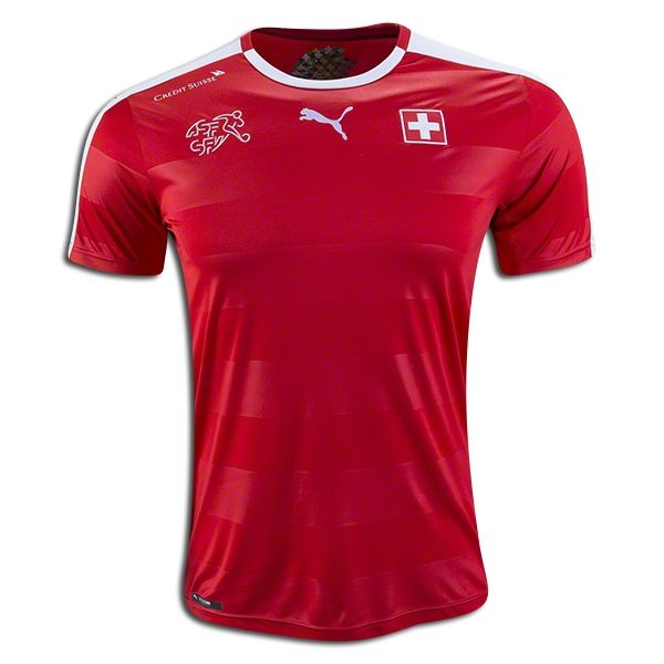 2018 FIFA World Cup Switzerland Home Soccer Jersey
