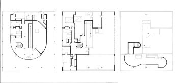AI-2A 2015-16 S2 Analyse - Villa Savoye Le Corbusier 2 - Plans