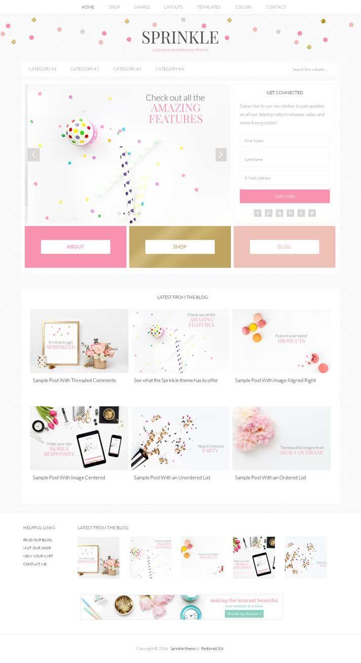 Sprinkle WordPress Theme