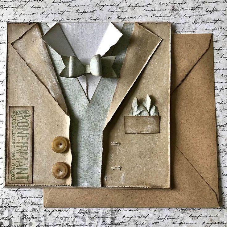 """3 likerklikk, 1 kommentarer – HildeRøisehagen (@hilderoisehagen) på Instagram: """"I dag blogger jeg for @papirdesign og jeg har laget et #dresskort . #papirdesign #handmade…"""""""