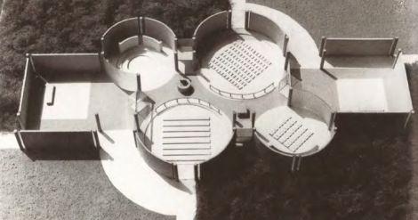 Proyecto para una Iglesia en Driebergen, Aldo van Eyck (1966)