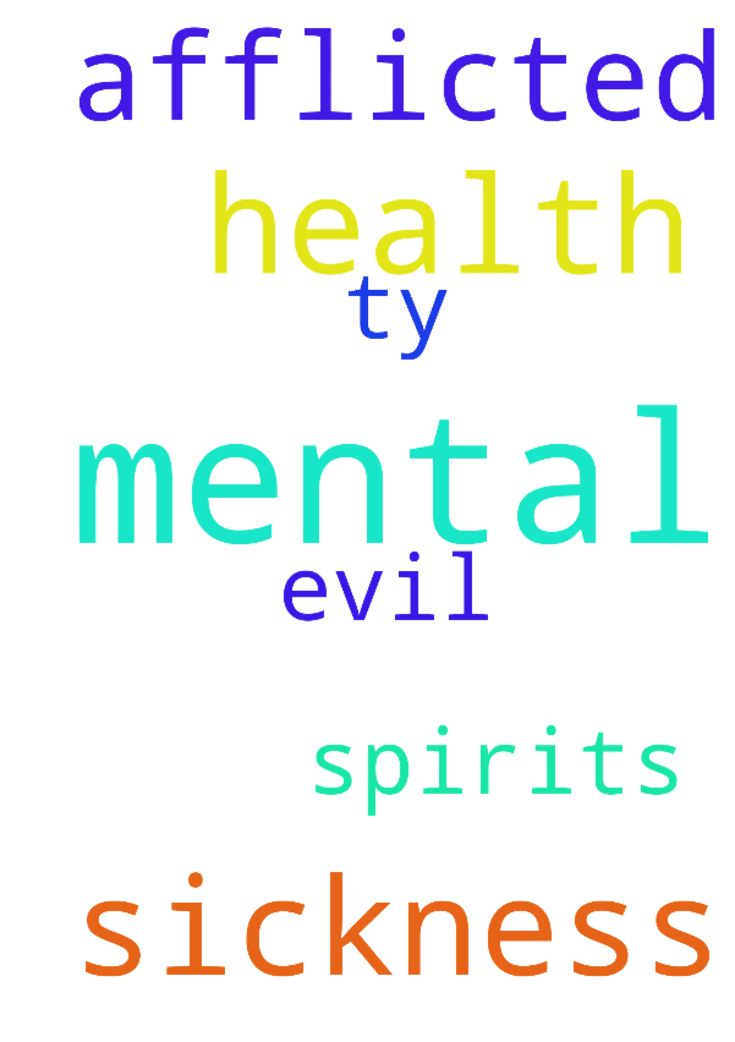 Please pray for my mental health and my sickness  Afflicted - Please pray for my mental health and my sickness Afflicted from evil spirits ty Posted at: https://prayerrequest.com/t/N2e #pray #prayer #request #prayerrequest