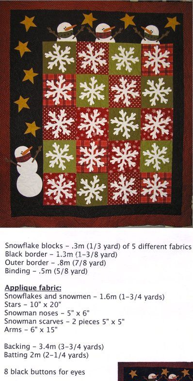 Flaky Friends quilt pattern ericas