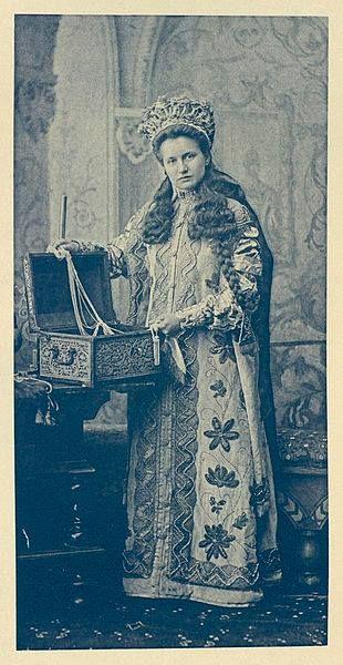 Princess Sophie Shakhovski at the Winter Palace Costume Ball of 1903. by ~VelkokneznaMaria.