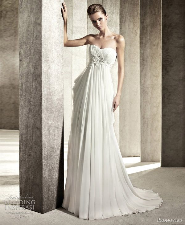 Best 118 Style: Goddess Gowns images on Pinterest | Weddings