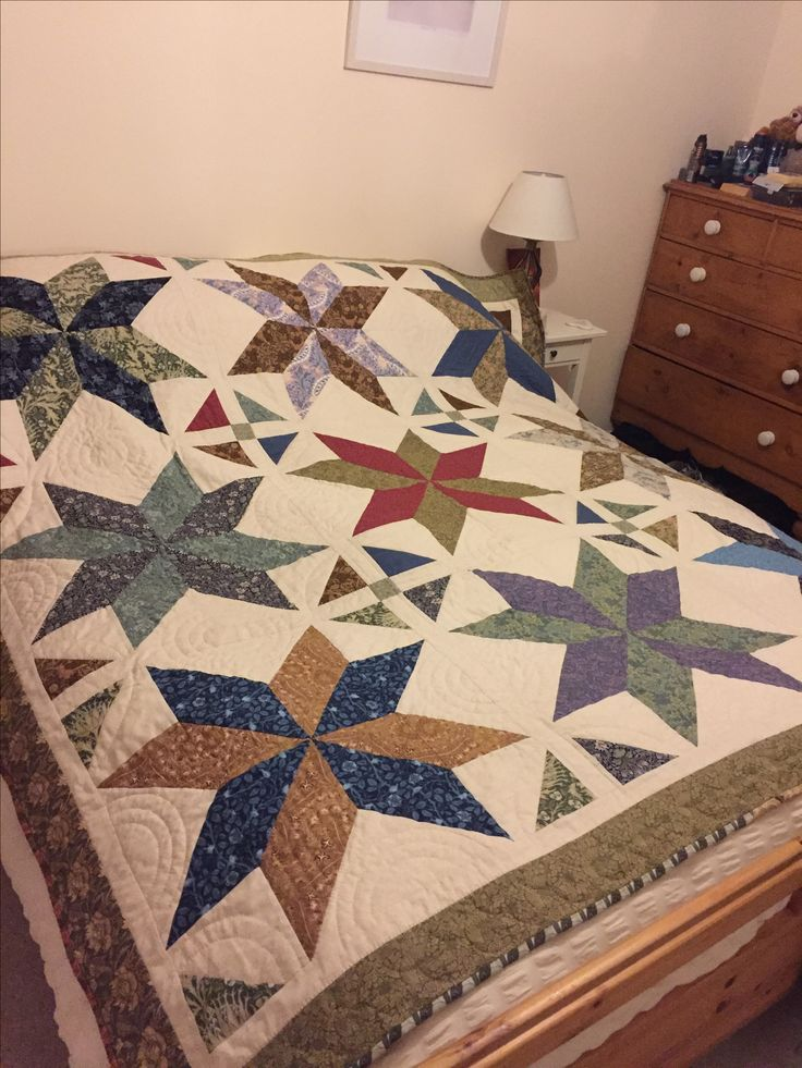 I love this quilt it was super easy to make.